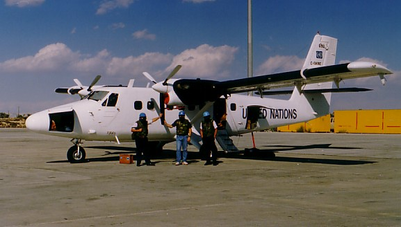 Twin Otter in Cyprus