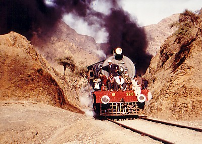 train in Khyber Pass
